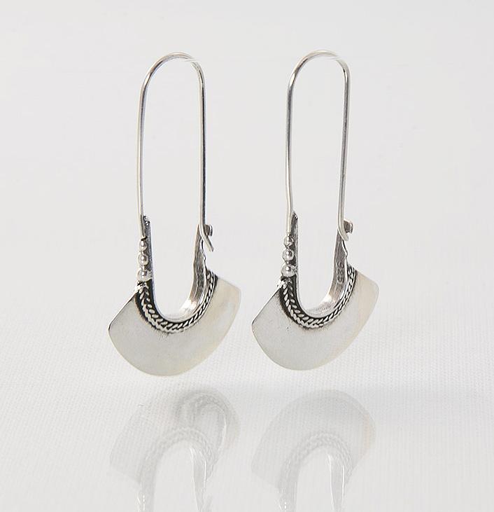 Boucles d'oreilles / Argent 925 / Zia